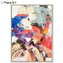 Горячая продажа Ручная Роспись Художника высокое качество абстрактная
