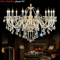Free Shipping Luxury Chandeliers And Pendant Living Room Lamps Lighting Modern Crystal Chandelier Indoor Lamp Hotel