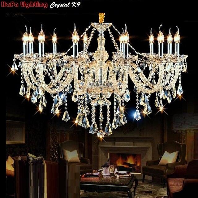 Modern Chandelier crystal For Bedroom Living Room Chandelier light Fixtures Hanging Indoor Pendant chandelier Lighting Modern K9