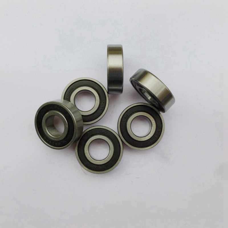 100pcs/lot   608-2RS  608RS  608 2RS rubber sealed deep groove ball bearing  8*22*7 mm skateboard  bearings