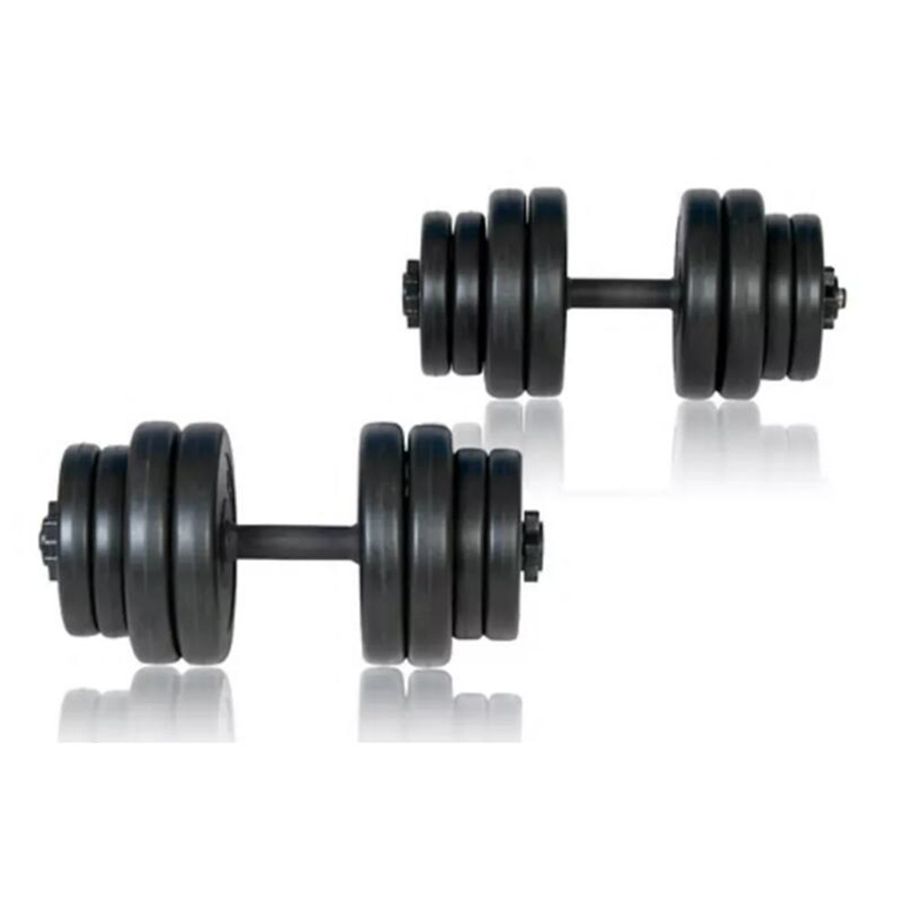 VidaXL Dumbbells Fitness Equipments Gym 30kg Muscle Workouts Arms Exercises Safe Efficient Body Training Body Building image