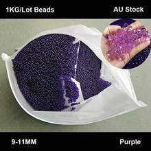 Zhenduo toys 1 кг/компл 9 11 мм пурпурный гелевый шар водяная