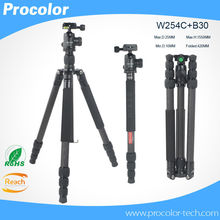 Professional Photographic Carbon Fiber Portable Photo Tripod Monopod camera stand+Ball Head for Canon Nikon Sony DSLR Camera
