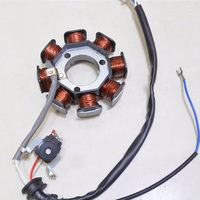 motorcycle YBR125 inner rotor kit ignition stator magneto coil for Yamaha 125cc YBR 125 in DC model 8 pole