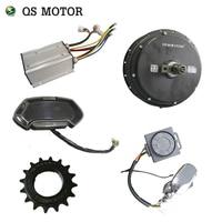 quanshun motor bldc 3000w spoke hub motor kits kls7230SF controller alarm function ct22 speedometer for ONYX motorbike