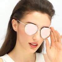 2018 New Luxury Brand Designer Ladies Aviator Sunglasses Women Polarized Mirror Lens Sun Glasses For Female