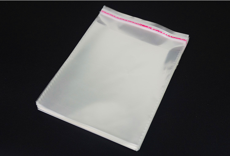 100pcs 34 24cm Self Adhesive Large Clear Opp Women Dresses Bag Transpa Plastic Virgin Hair Entensions Wigs In Storage Bags From Home