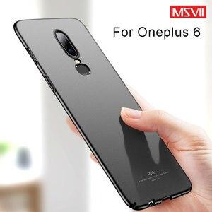 MSVII Oneplus 6, чехол, ультра тонкий матовый чехол для One Plus 6, чехол, Жесткий ПК, задняя крышка для OnePlus6 One Plus 6T Six 1 + 6, чехол s