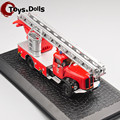 Hottest Collectible ATLAS 1: 72 Saurer 2DM the old fire truck alloy car models ambulance car For Children Toys Gifts