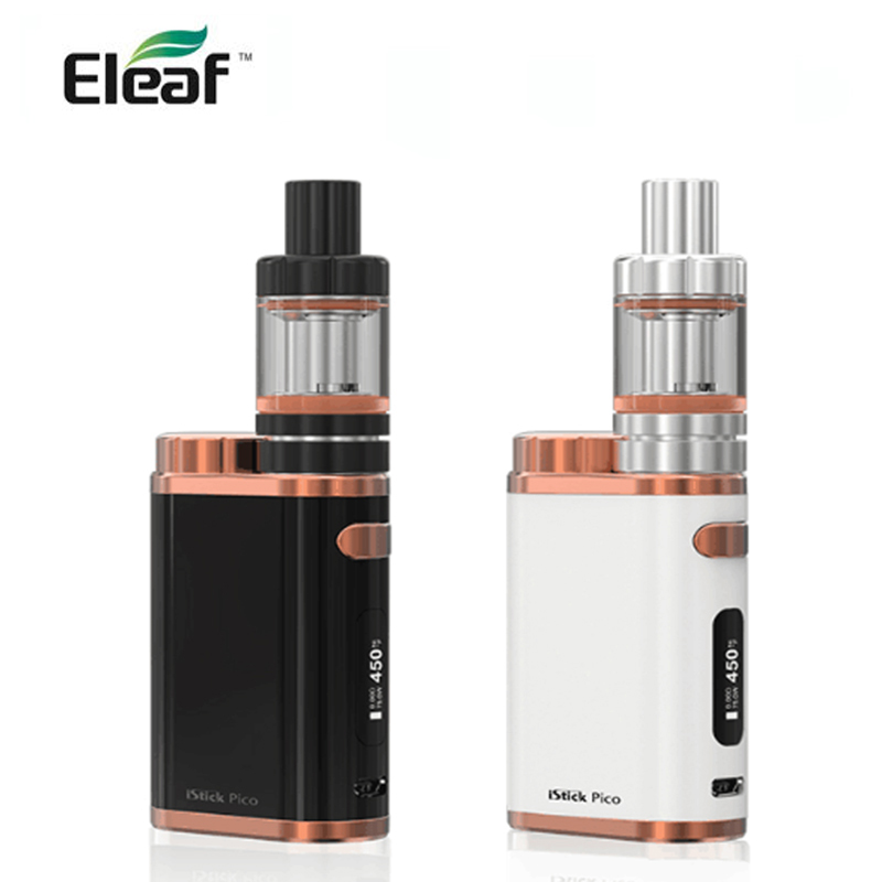 Eleaf Istick Pico Kit With 75W Electronic Box Mod 2ml /4ml Atomizer Mini Vape Vaporizer Elektronik Sigara E Sigaret Istick Pico