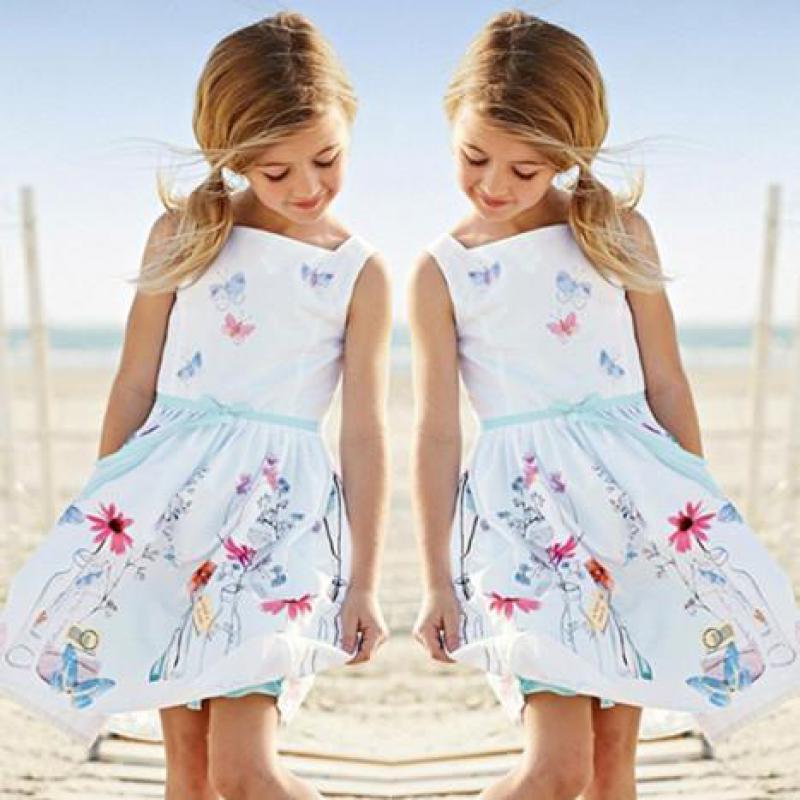 Աղջկա զգեստ Արքայադուստր անթև - Մանկական հագուստ