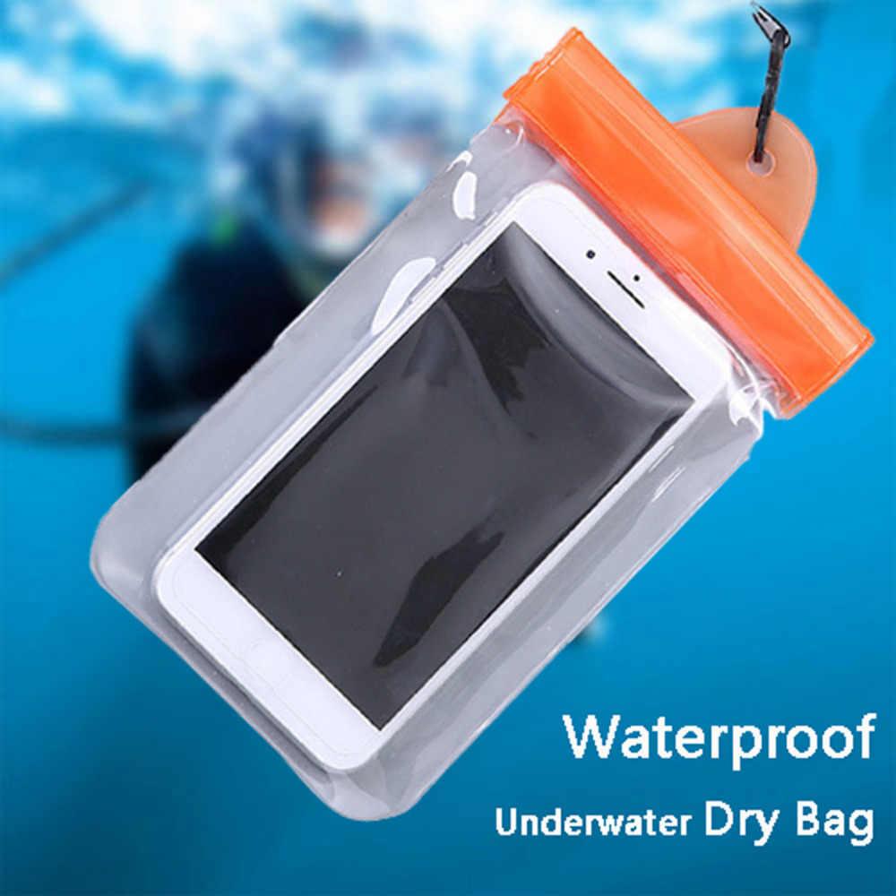 Funda impermeable para nadar al aire libre y deporte cubierta para teléfono móvil
