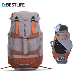 Al aire libre impermeable Camping Climing mochila de viaje para hombres mujeres equipaje para senderismo bolsas mochila Laptop Mochila GRANDE paquete 34L