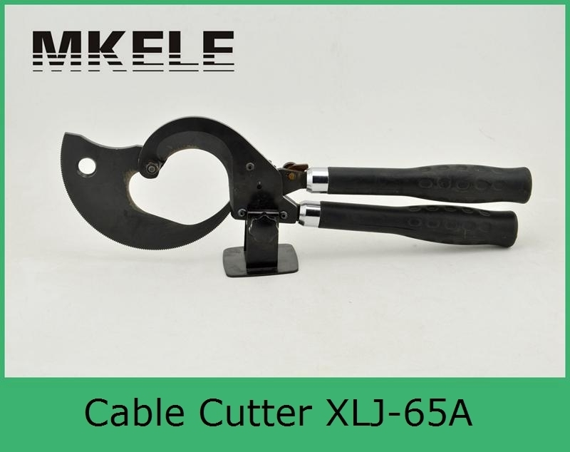 High Quality MK-XLJ-65A Metal Steel Copper Hand Wire Tool, Electrical Cable Cutter Tool Clamp high quality mk xlj g 32a hydraulic hose cutter hydraulic swaging tool hydraulic wire rope cutter from china mfr clamp