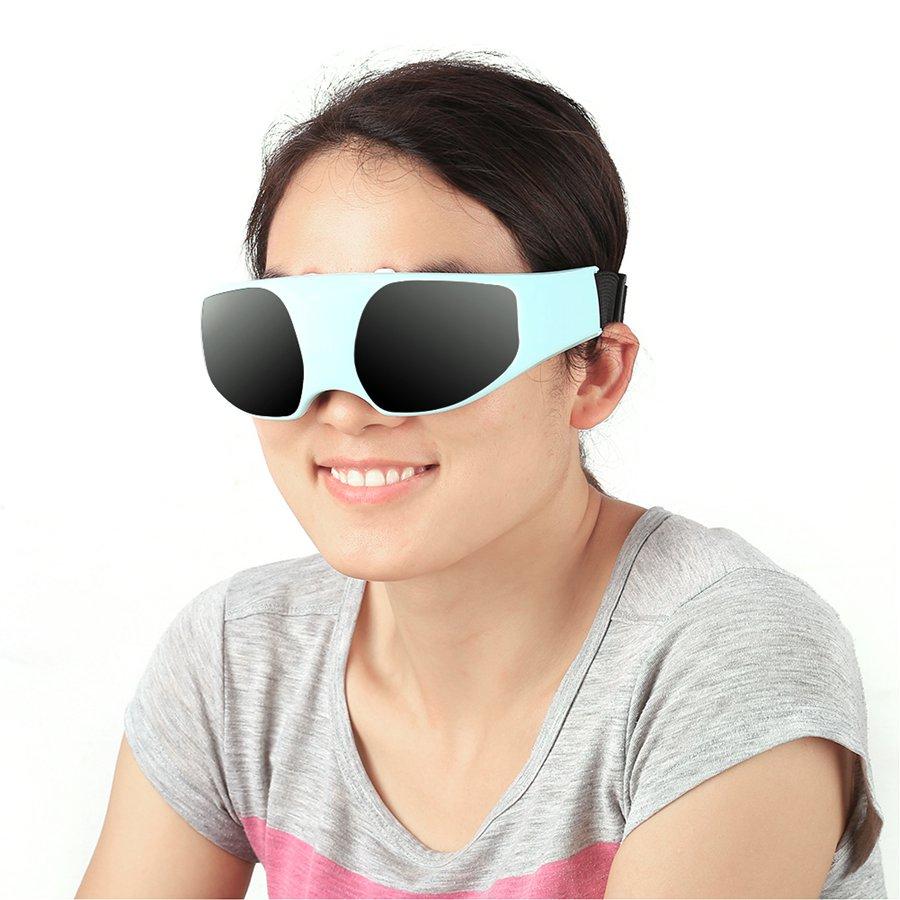 Electric Eye Massager Del Cuidado de la Salud Aliviar La Fatiga Cabeza Alivio de Tensión Estrés Herramienta