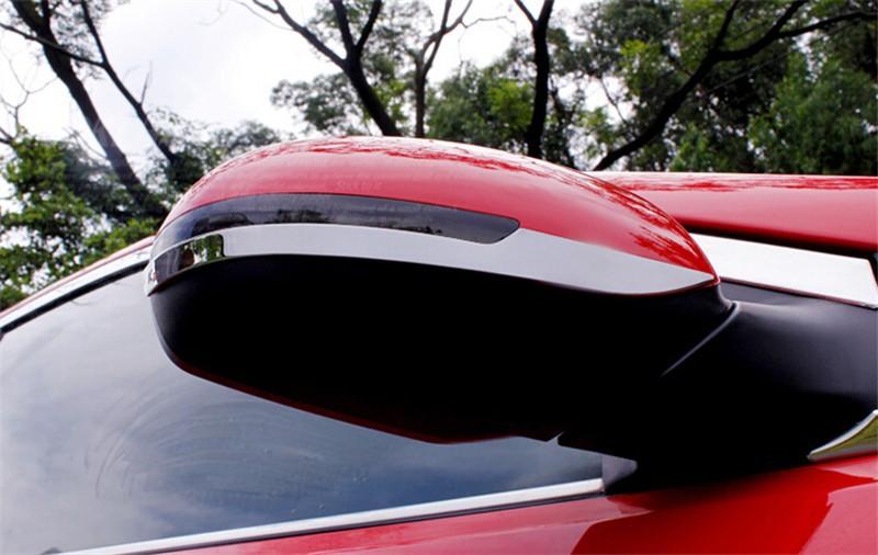 LYSHUI/Car Styling Coprimaniglie ABS Cromato per Maniglia Auto per Kia Rio K2 2011 2012 2013 2014 2015