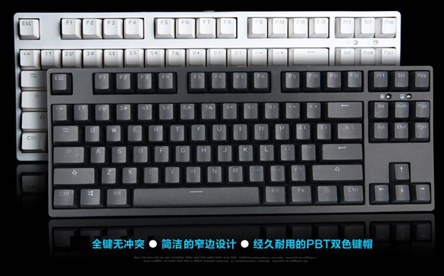 87 keys mechanical keyboard  TKL PBT keycap tenkeyless  gaming  keyboard cherry mx brown blue red  87 compact game keyboard gigabyte keyboard gigabyte osmium cherry mx brown
