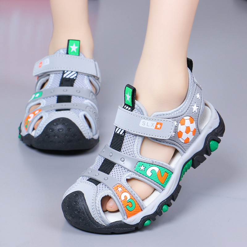 Boys Sandals Children New Korean 2019 Baby Baotou Soft bottom Girls Shoes