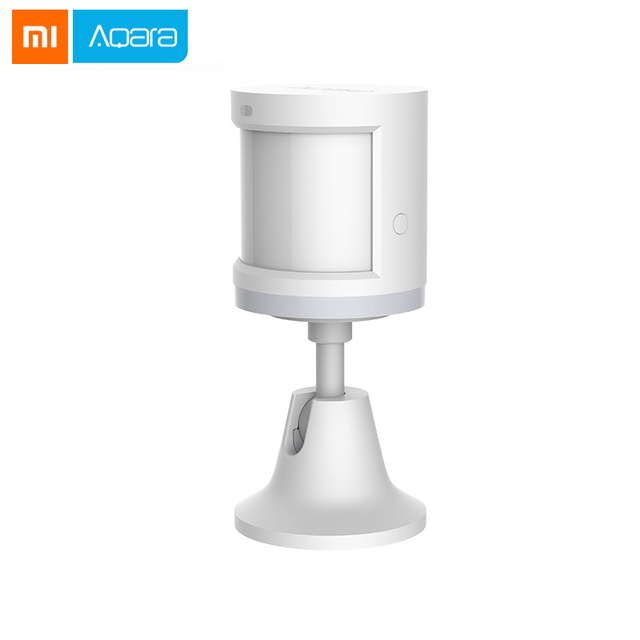 2018 Xiaomi Aqara cuerpo humano inteligente Sensor de movimiento del cuerpo Sensor de movimiento Zigbee conexión Mihome App