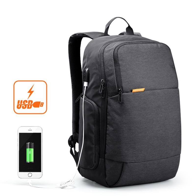 Prix pour Kingsons 15.6 pouce ordinateur portable hommes sac à dos d'affaires voyage unisexe sac à dos antivol avec usb chargeur étanche femmes sac militaire
