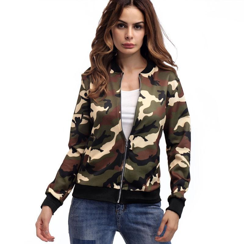 Aliexpress.com : Buy Women Slim Army Green Military Coat Female ...