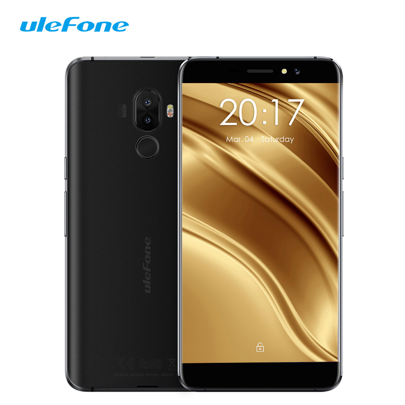 Ulefone S8 Pro 4G LTE Smartphone 5.3 Dual Back Camera Android 7.0 Quad Core 2GB 16GB 13MP Fingerprint Mobile Phone Celular