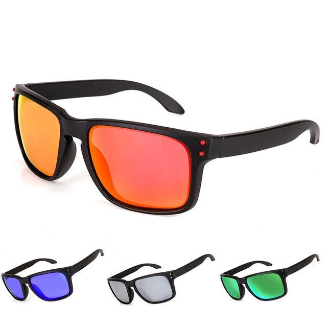 87a91726ec800 Holbrooker Fashion Sunglasses Polarized Lens Men Women Sports Sun Glasses  Trend Eyeglasses Male Driving Eyewear 9102
