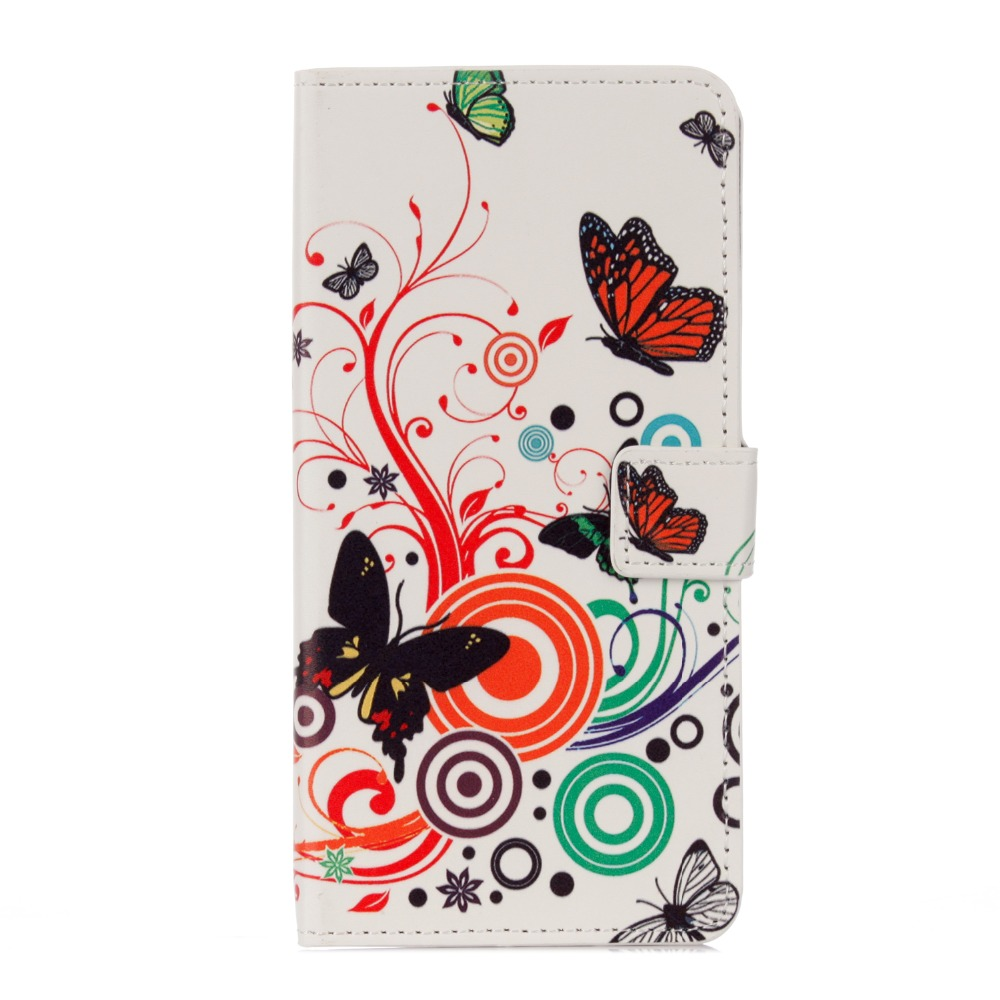 Flip Case for iPhone 5,5s, 6,6s,7,8, 6plus, 7plus ,6splus PU Leather Butterfly Sleepy Owl Retro Wallet Cover Bag
