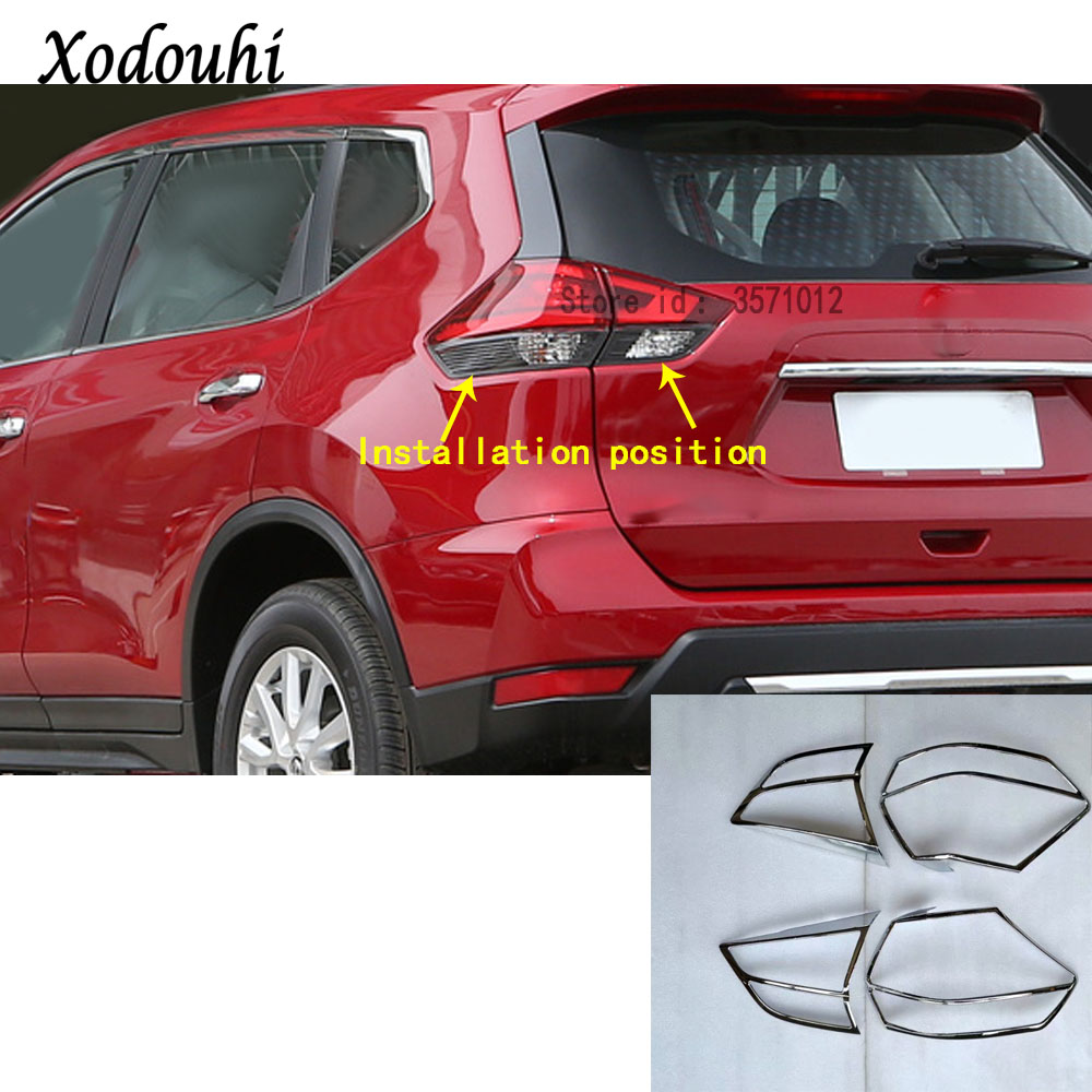 For Nissan X Trail XTrail T32 Rogue 2017 2018 2019 car Rear tail back Light font