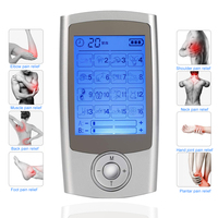 TENS EMS Massager Muscle Stimulation Electronic Mini Personal nerve stimulator electro stimulation therapy machine pain relief