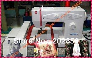 Image 1 - Machine de broderie multifonction pour la maison, machine de broderie, contrôlée par ordinateur, à la fois pour la couture et la broderie, garantie de qualité dun an, livraison gratuite