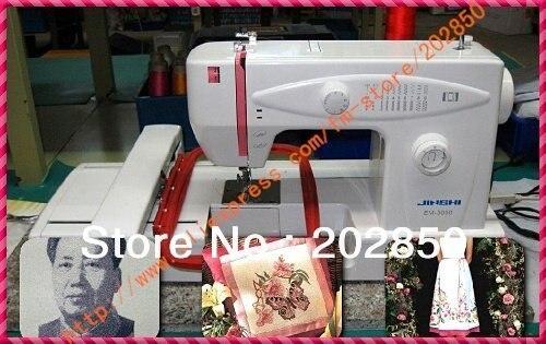 Machine de broderie multifonction pour la maison, machine de broderie, contrôlée par ordinateur, à la fois pour la couture et la broderie, garantie de qualité dun an, livraison gratuite