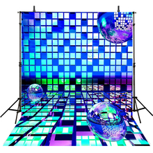Blue Photography Backdrops Party Backdrop For Photography Children Background For Photo Studio 3D Foto Achtergrond цены онлайн
