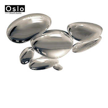 Modern Alloy Plated Chrome Water Drop LED Ceiling Lights Luxury Metal Mercury LED Ceiling Lamp For Foyer Bedroom Living room - Category 🛒 Lights & Lighting
