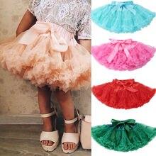 Пышная юбка-американка для маленьких девочек; юбка для принцессы; Одежда для танцев; юбки для вечеринок; регулируемая юбка для детей 0-5 лет