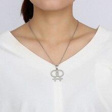 LGBT Female Logo Meaeguet Stainless Steel necklet
