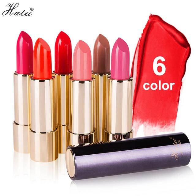 Halu бренд помада Увлажняющая помада Rouge Водонепроницаемый прочного Красота Baby Lips прочного Hydra питает 6 видов цветов