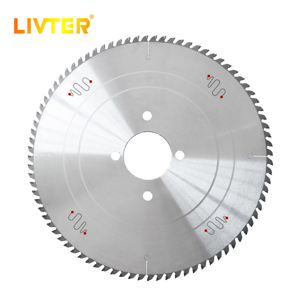 LIVTER High Quality T.C.T Circular Saw Blades For High Precision Cutting Panels MDF,Particle Board 60/72/84/96 Teeth