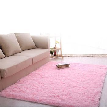 Nueva alfombra mullida Anti-Skiding alfombra de área peluda ...
