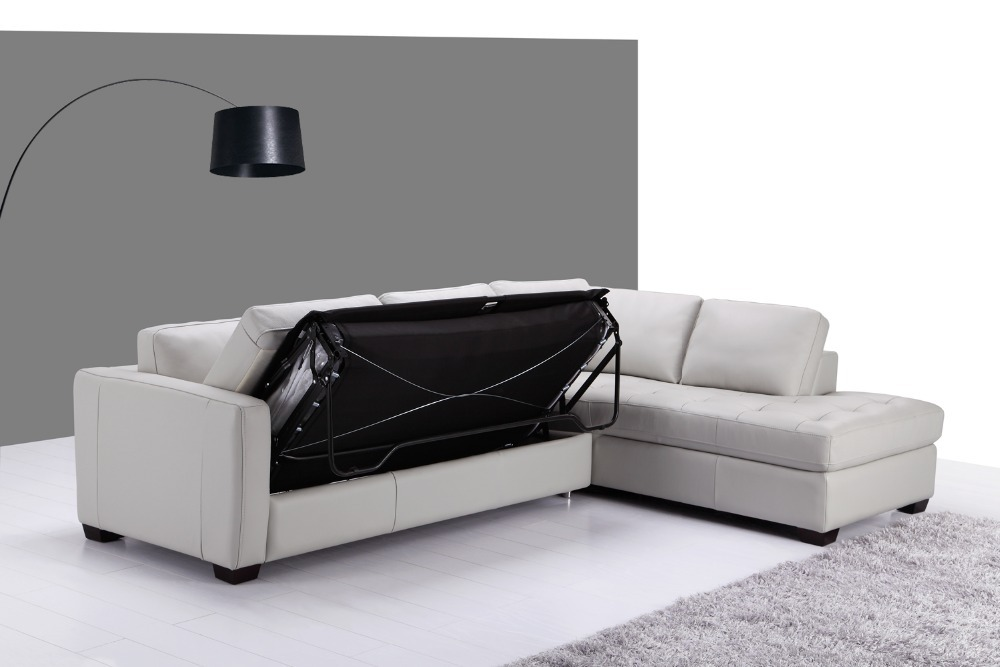 genuine leather sofa bed sofa ideas modern furniture s. Black Bedroom Furniture Sets. Home Design Ideas