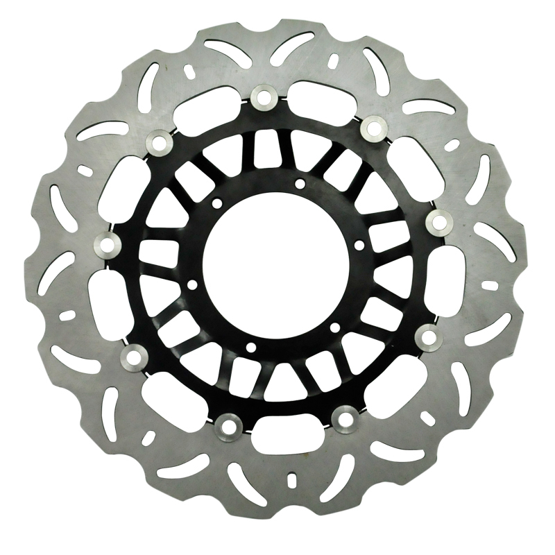 Motorcycle Front Brake Disc Rotor CBR1000RR 2006 2007 RTV1000 2004-2006 VTR1000 SP-1 SC45 2000 2001 VTR1000 SP-2 SC51 2002-2007 mfs motor motorcycle part front rear brake discs rotor for yamaha yzf r6 2003 2004 2005 yzfr6 03 04 05 gold