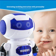 Electronic Dancing Robot With Musical & Lighting Robot Fun Learning Toys For Kid