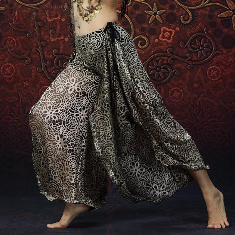 Willensstark Sexy Ägypten Tribal Bauchtanz Harem Hosen Neue Design Oriental Dance Training Hosen Heiß-verkauf Neuheiten Und Spezialanwendung