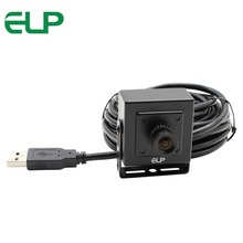 Free shipping ELP camera usb 2 megapixel black case mini 6mm lens CCTV Indoor USB Webcam Camera