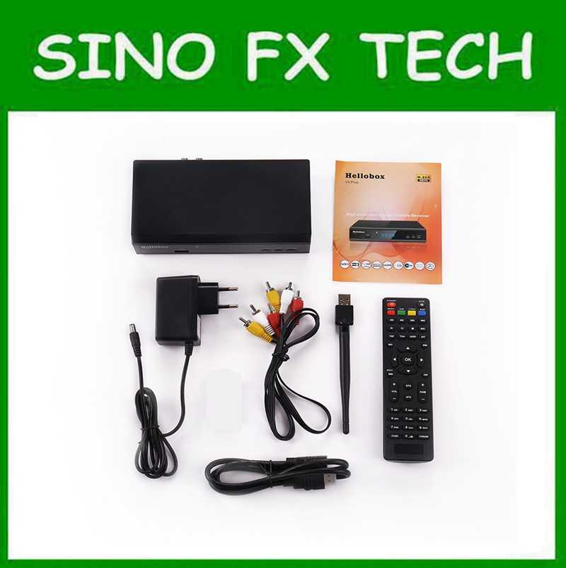 GSKY V5 PLUS HELLOBOX V5 PLUS similar function as gsky v7 power vu auto  roll support H 265 HEVC IPTV 3 months free