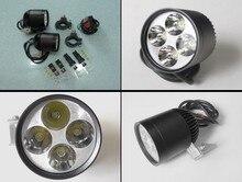 Envío Libre Un par 4 * U2 Cree chip de 36 W 3600 lúmenes impermeable LLEVÓ kits de iluminación de la motocicleta de la motocicleta LED centro de atención