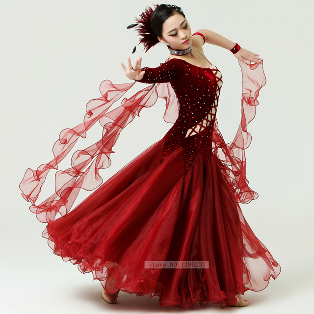 Discount Ballroom Competition Dresses