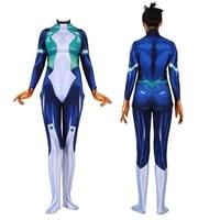 Nejire hado Cosplay Costume Hero Academia 3D Printed My Hero Academia Lycra Battle Bodysuit for Girls/Women/Lady/Female