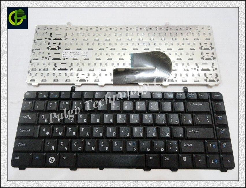 Русская клавиатура для Dell A840 A860 Vostro 1014 1015 1088 PP37L R811H 0R811H R818H 0R818H PP38L RU черный V080925BS1