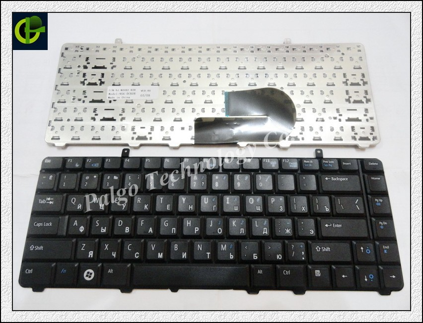 Clavier russe pour Dell A840 a860 vostro 1014 1015 1088 PP37L R811H 0R811H R818H 0R818H PP38L RU Noir V080925BS1